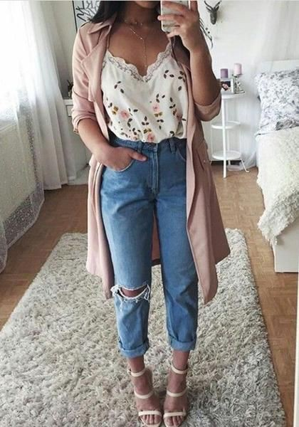 Best style of cute spring outfits, Casual wear