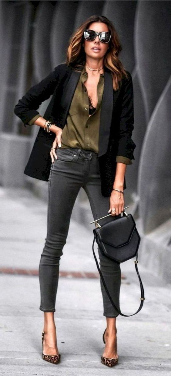Casual Blazer Outfits Female, fashion model