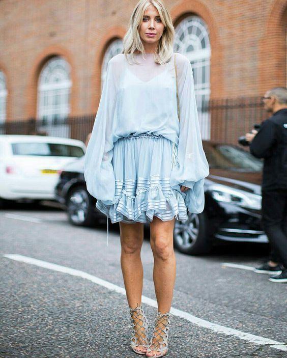 Outfit new york primavera, Fashion week