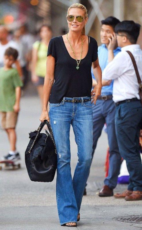 Heidi klum street style 2018, Vito Schnabel