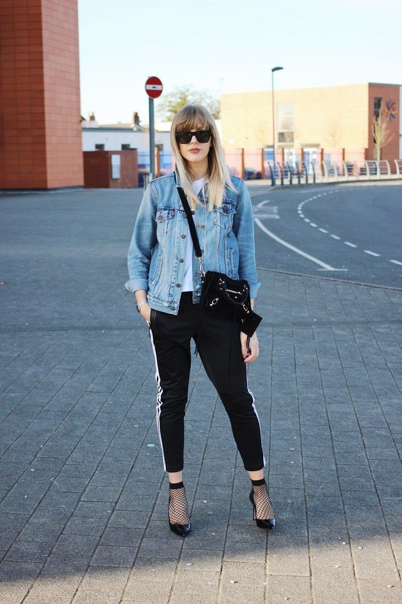 Athleisure Outfits For Women, Jean jacket