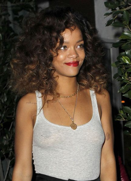 Never got before offer rihanna curly hair, This Is Rihanna