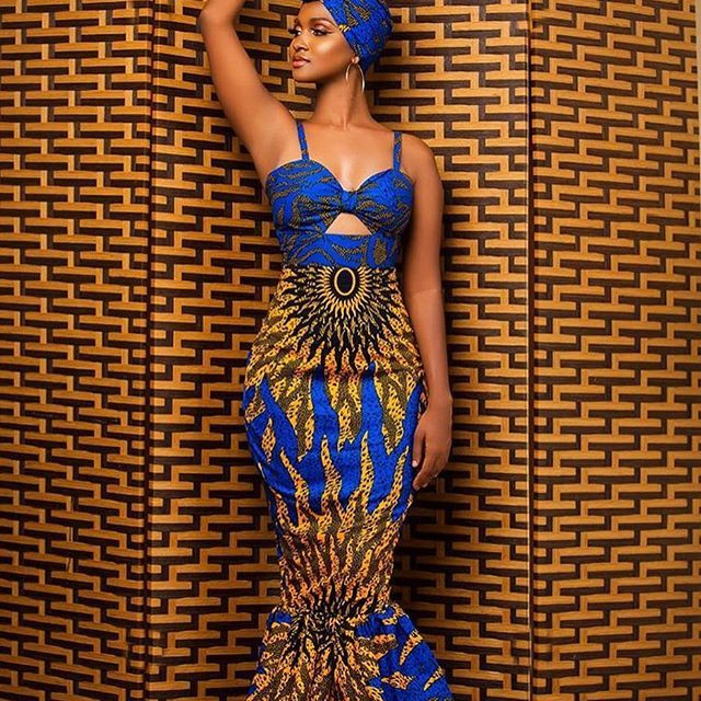 Girls most wanted fashion model, African wax prints