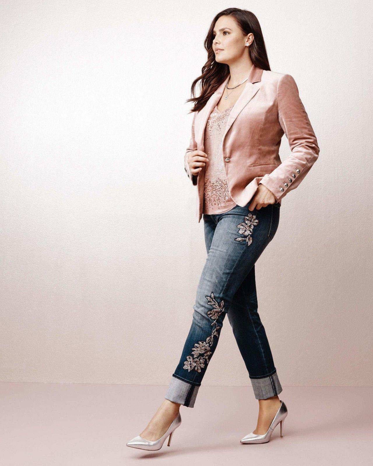 White house black market sequin lace slim jeans