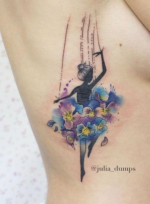 You may like watercolor tattoo ballerina, Dance and Dancers