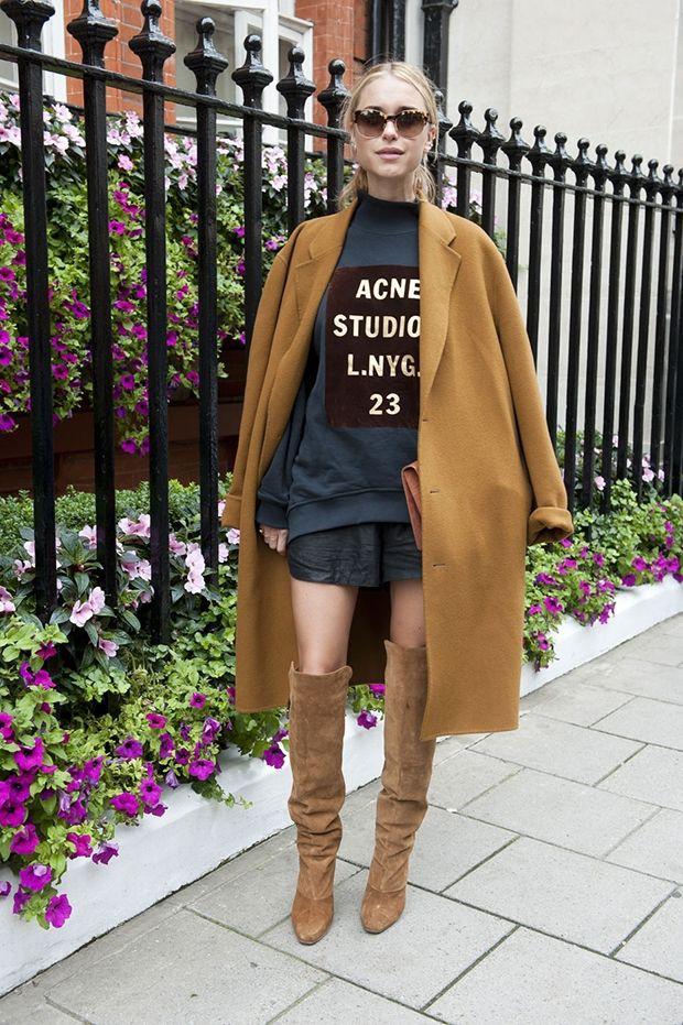 Perfect suggestions for duzy plaszcz, Street fashion
