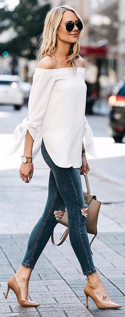 Classy jeans outfit ideas, Casual wear