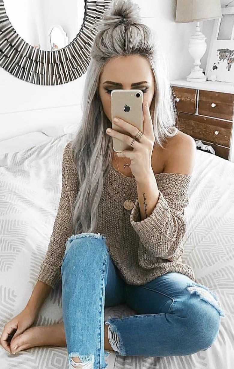 Nice ideas to protect winter outfits women, Casual wear