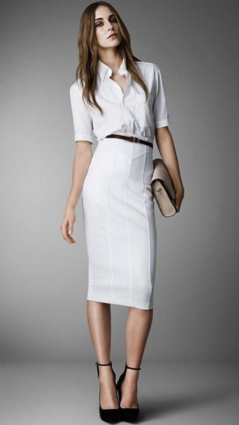 Latest and trending robe jupe crayon, Pencil skirt