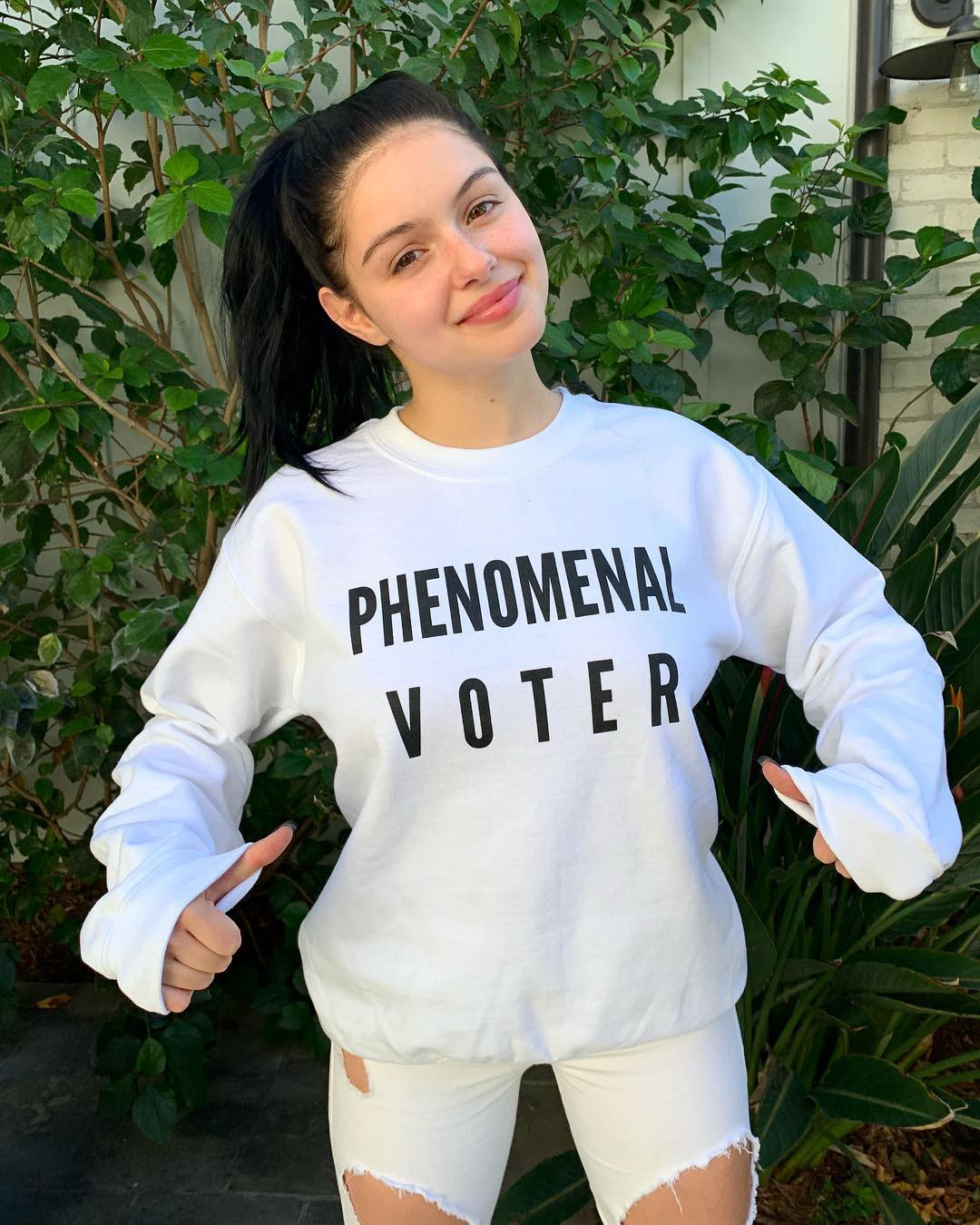Models choice ariel winter 2019