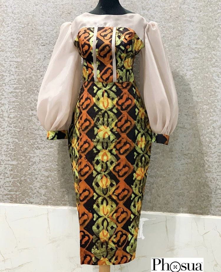 Tips to style day dress, African wax prints