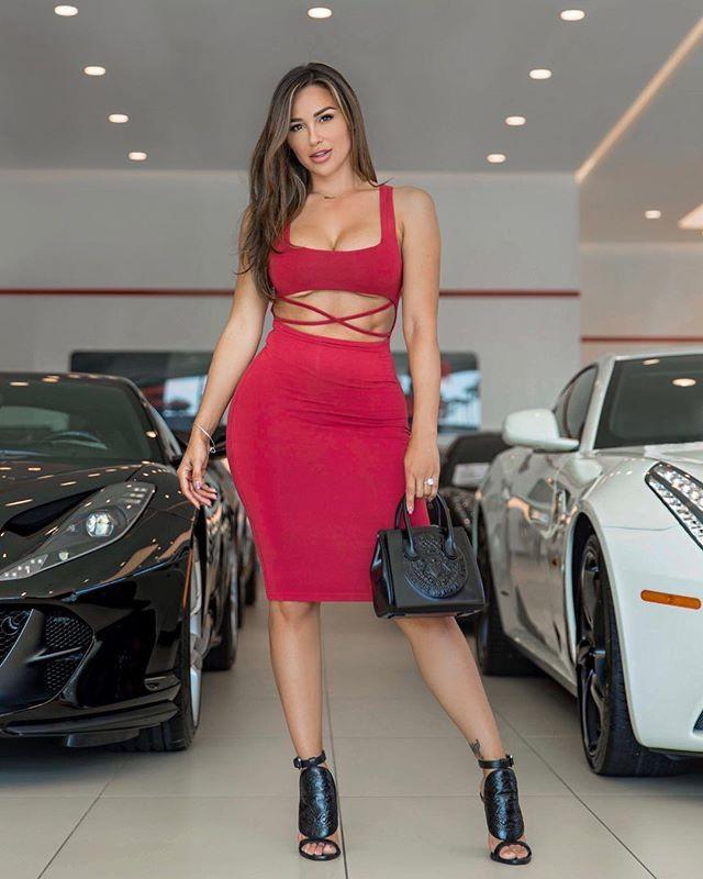 Ana cheri in heels