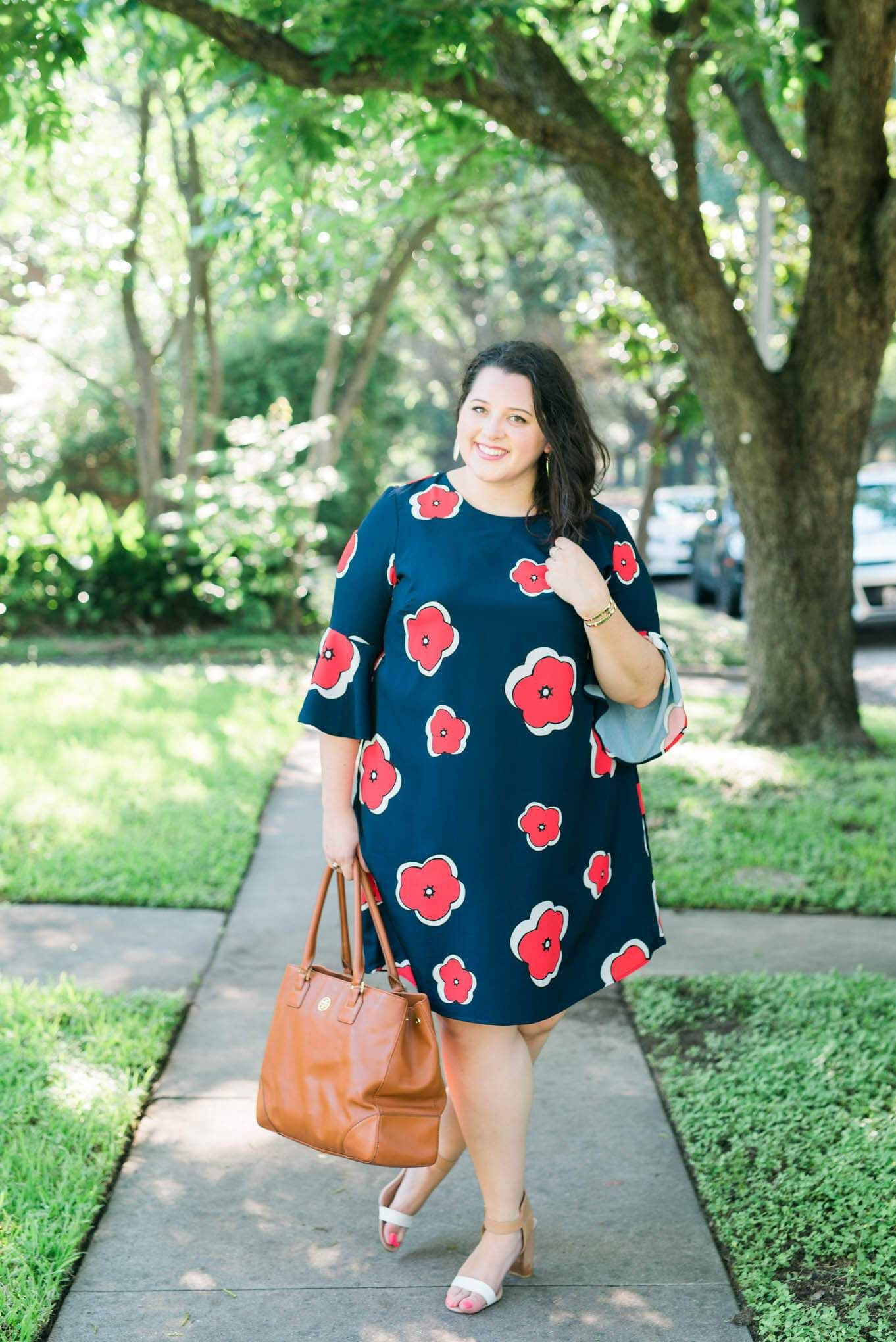 Plus Size Workwear Outfits, Polka dot, Business casual
