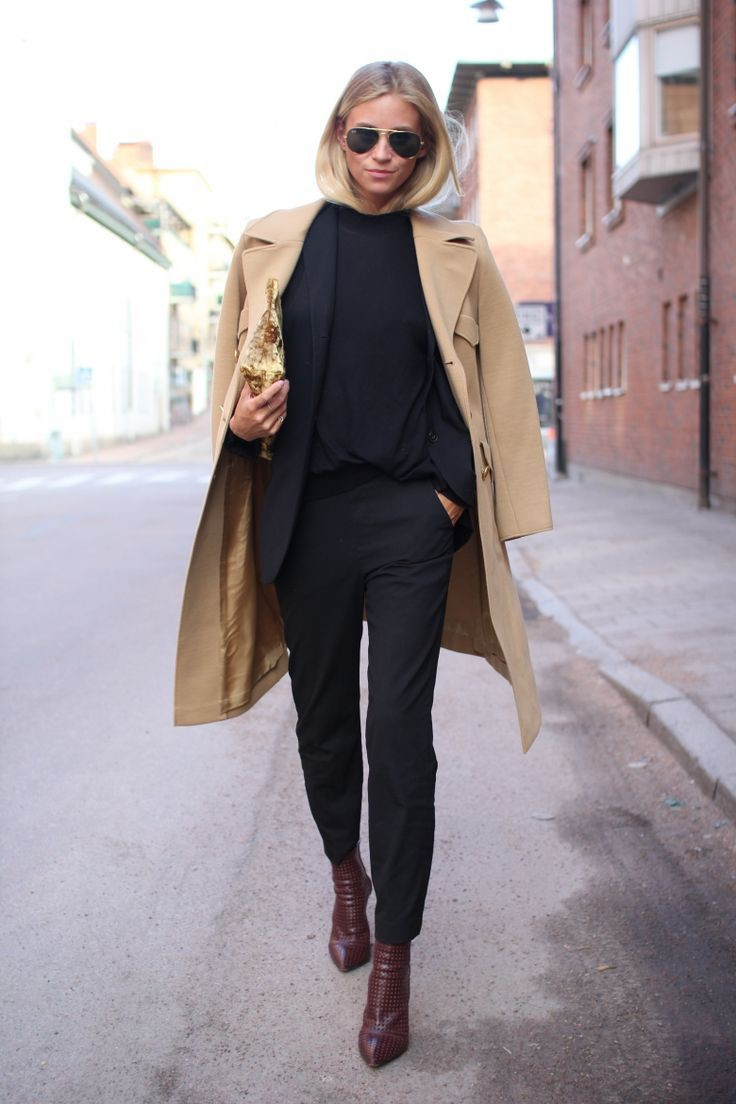 Office trousers with boots, Chelsea boot