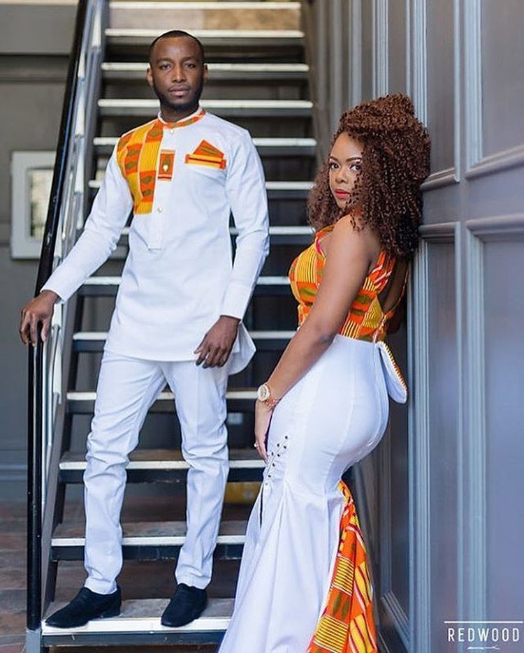 Winter fashion tips for african couple styles, African wax prints