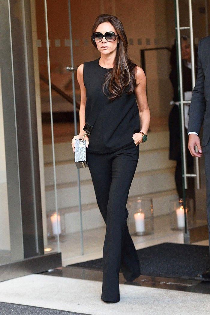 Victoria beckham casual style, Victoria Beckham