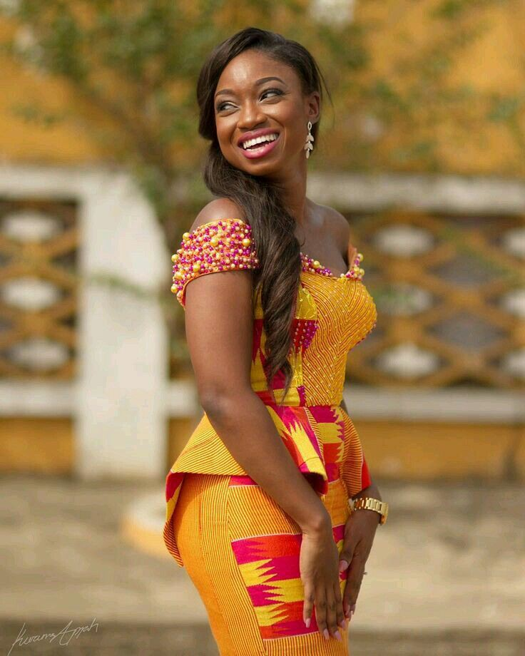 Kente styles for traditional marriages