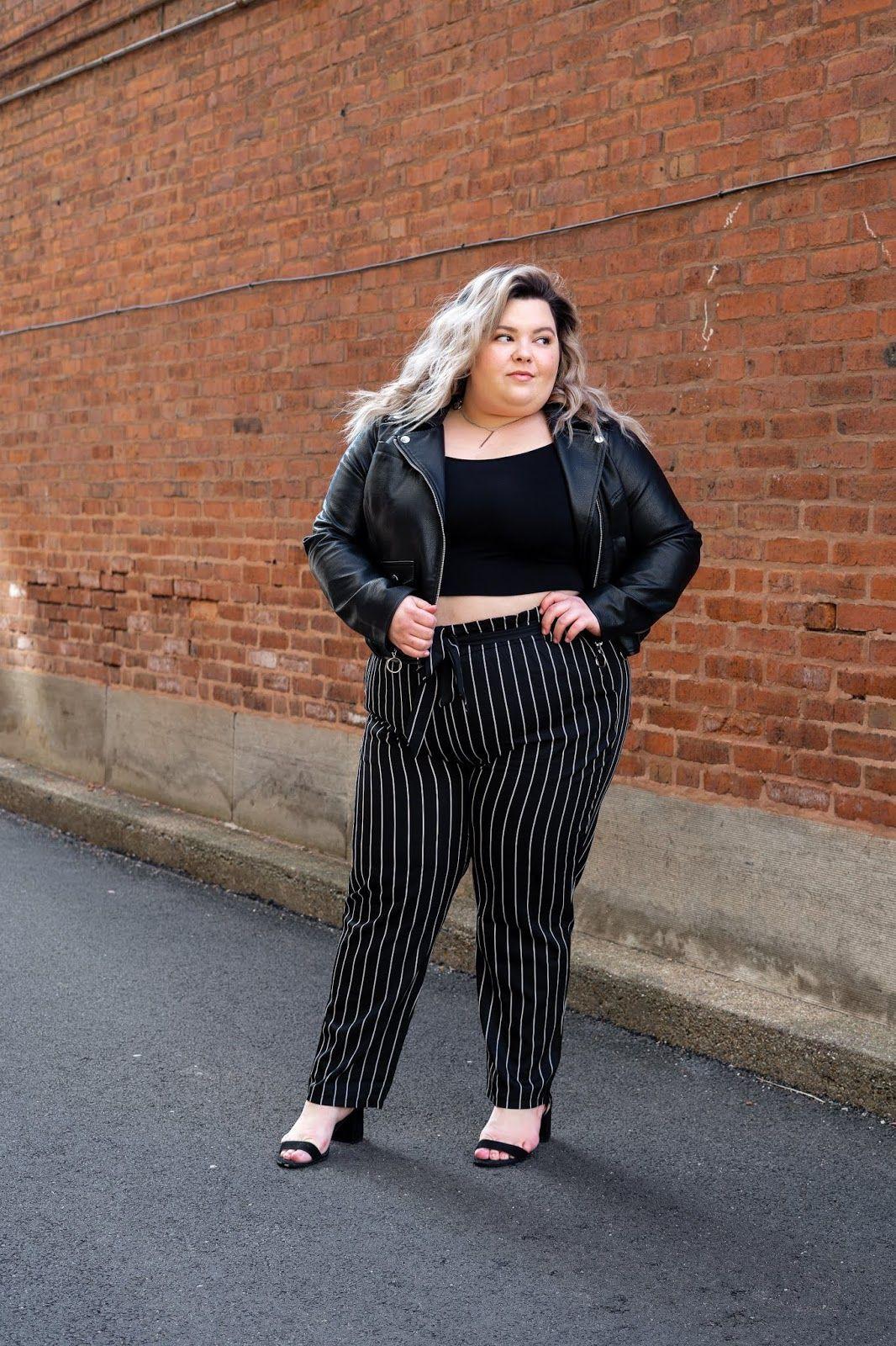 Plus Size Pants For Curvy Women, Crop top, City Chic