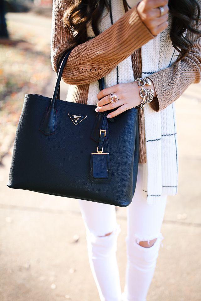 Prada Handbag., Satchel Handbag