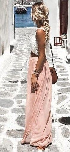 Just have a look boho summer look, Crop top