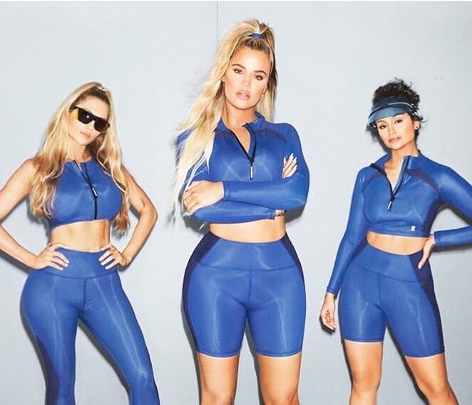 Khloe kardashian good american activewear