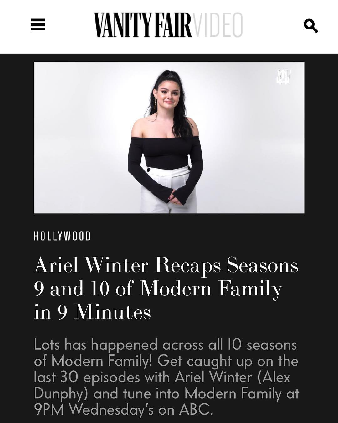 Adorable ideas for vanity fair, Ariel Winter
