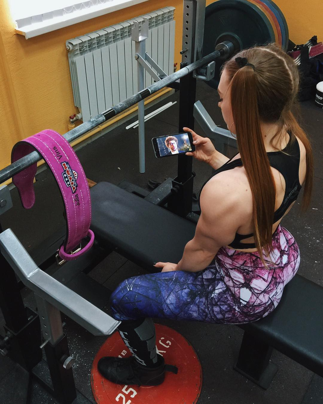 Julia Vins Bodybuilder, Fitness Centre, Physical fitness