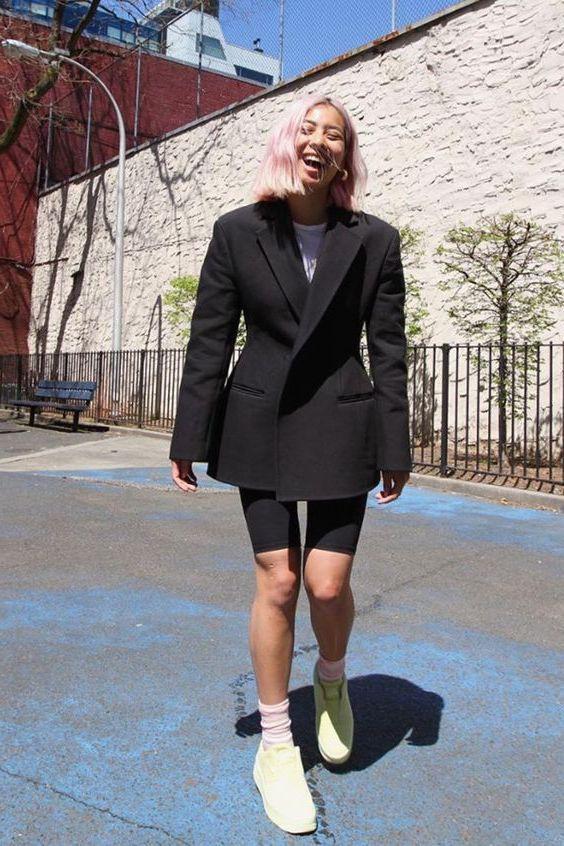 Casual Bike Shorts Trend For Women