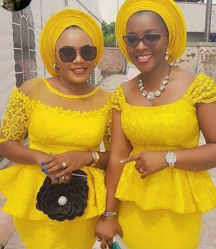 Lace latest nigerian kaba styles