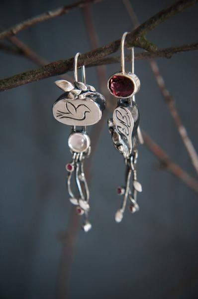 Cute Asymmetrical Earrings Ideas, Body piercing jewellery