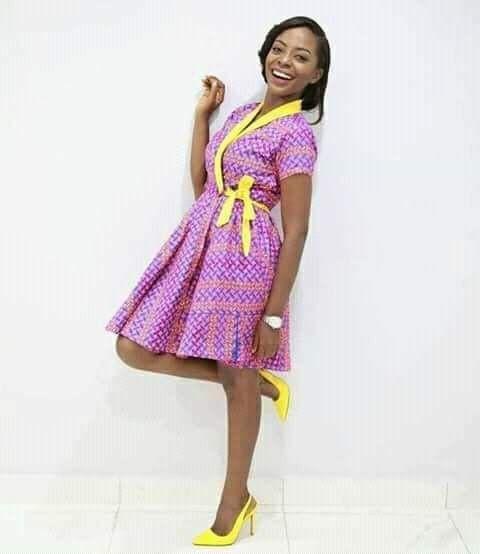 Ankara african print dresses styles 2018