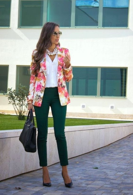 Casual Blazer Outfits Female, Jean jacket