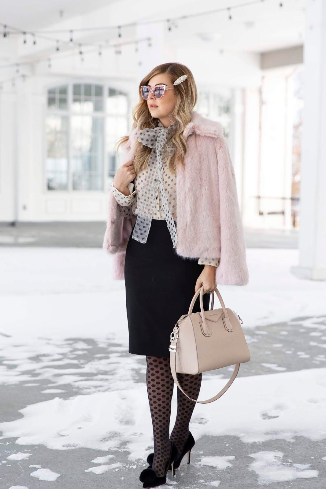 Try these fashion model, Fur clothing