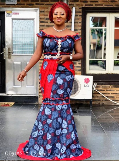 Ankara Fashion Styles for Wedding