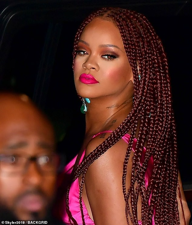 Really spectacular rihanna braids, Fenty Beauty