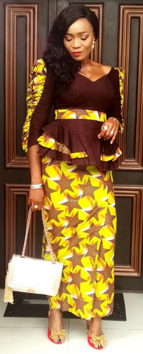 Latest nigeria clothes slit and kaba fashion styles 2019