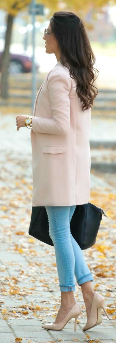 Cute Winter Chic Suede Coats