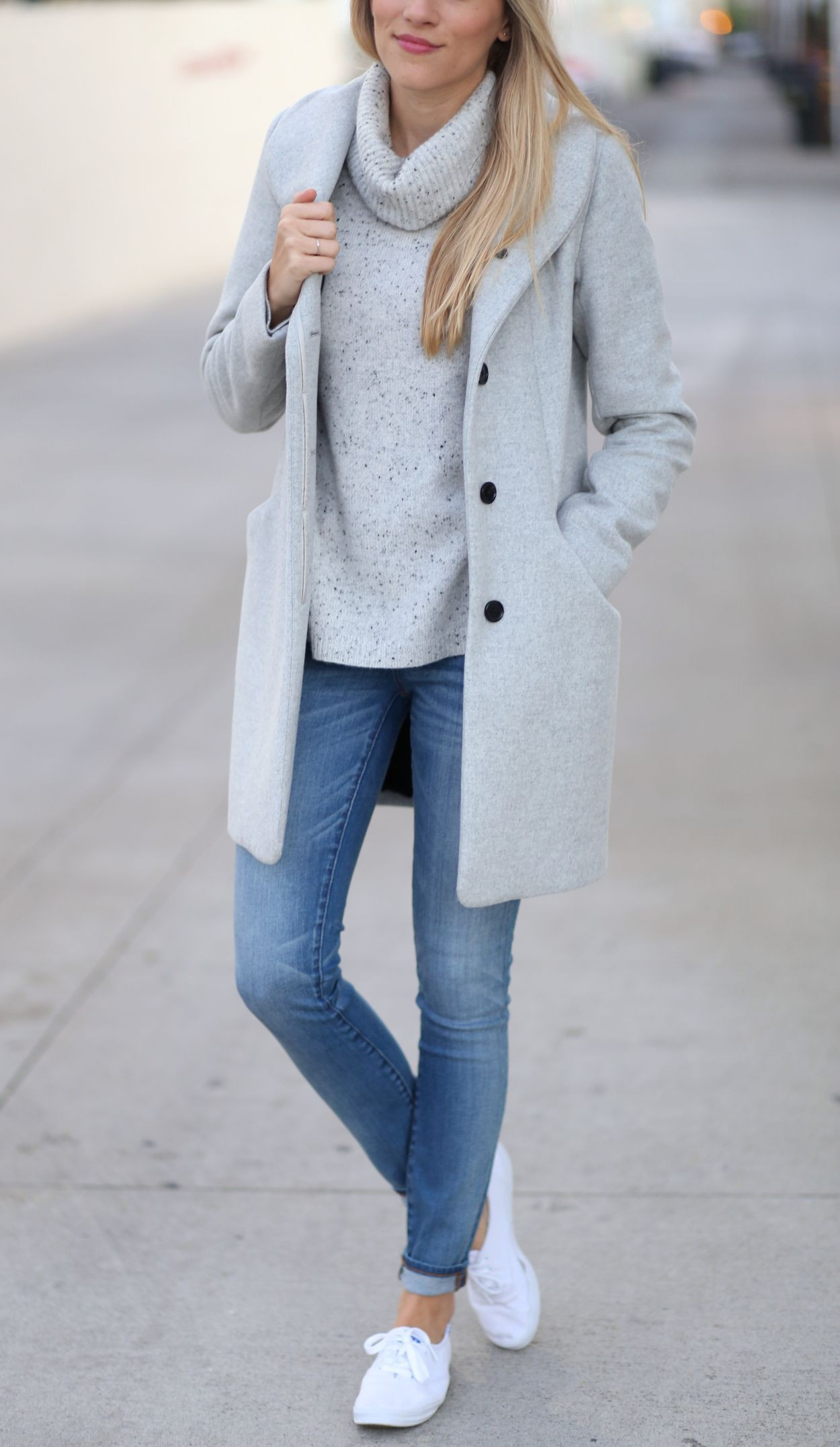 Outfit con keds blancos, Casual wear