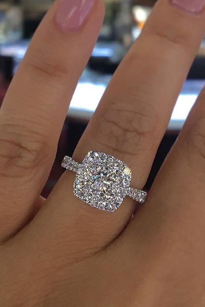 Most beautiful engagement ring, Engagement ring