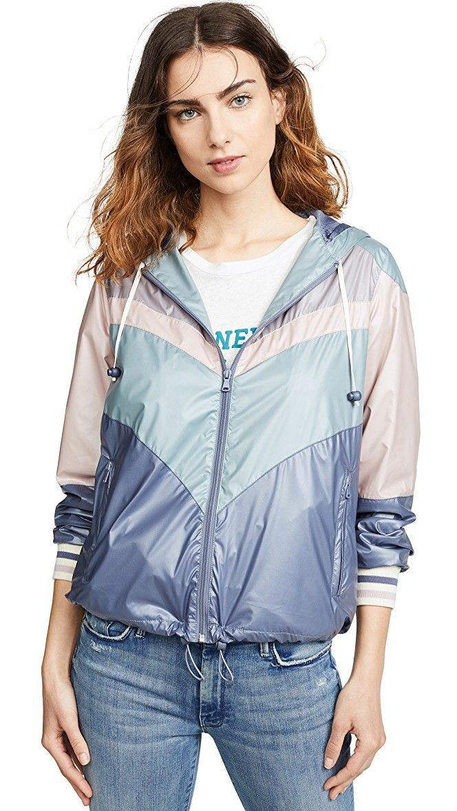 Windbreaker Outfits, Jean jacket, Boxy Jacket