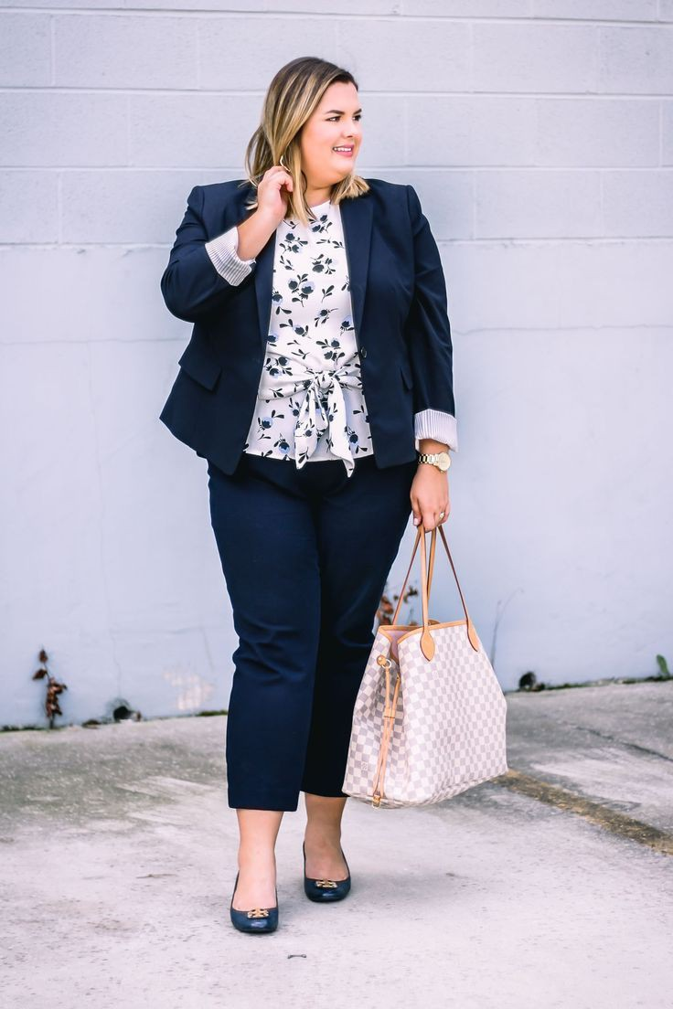 Plus Size Work Outfit, Casual wear, Business casual