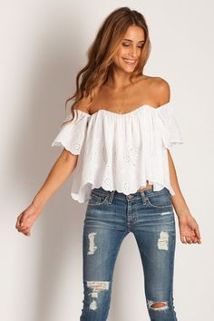 Birthday choice for white summer top, Tube top