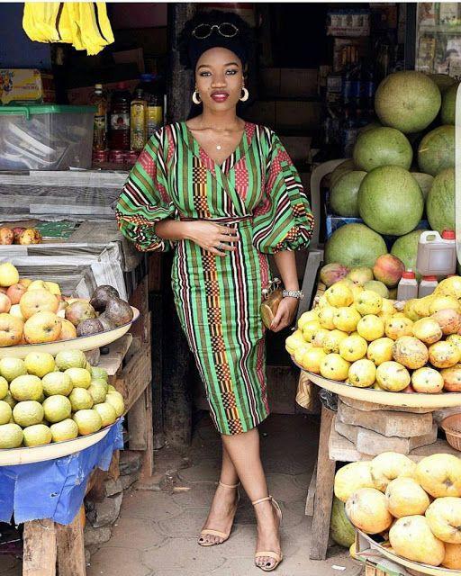 Inspire every girl African wax prints, Aso ebi