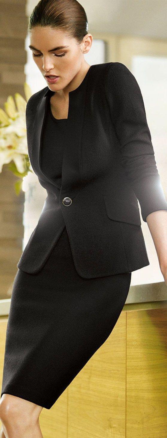 Office Outfit Ideas For Women, Little black dress, Model M keyboard