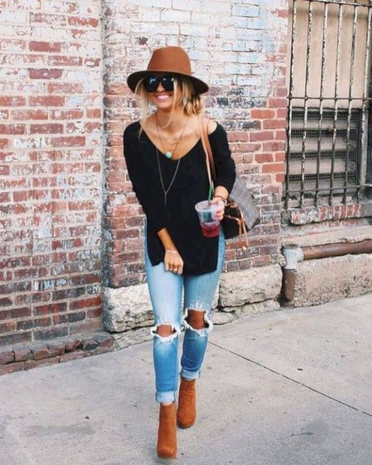 Fall hat outfit ideas, Casual wear