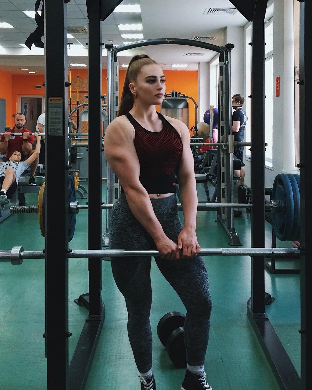 Definitely adorable Julia Vins, Physical fitness