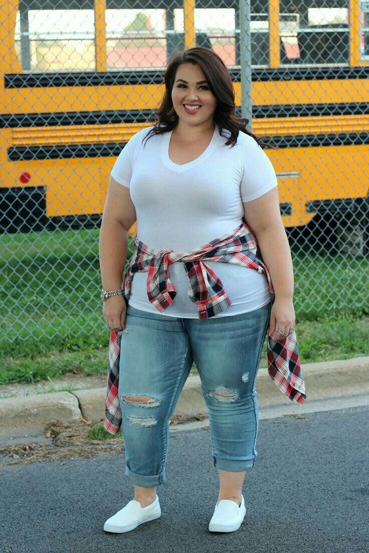 Cute curvy girl outfits, Plus-size model