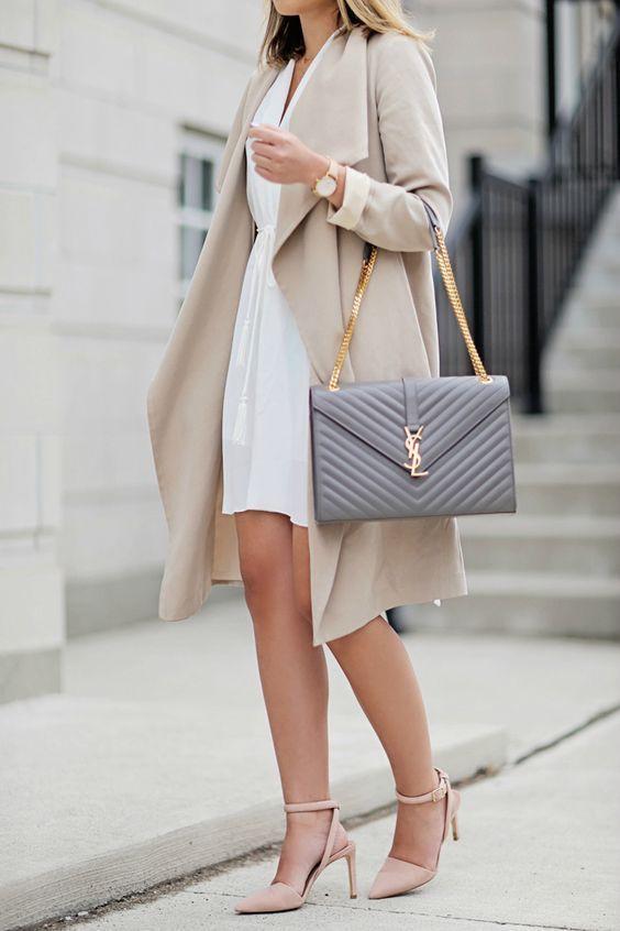Fashion ysl bag outfit, Street fashion
