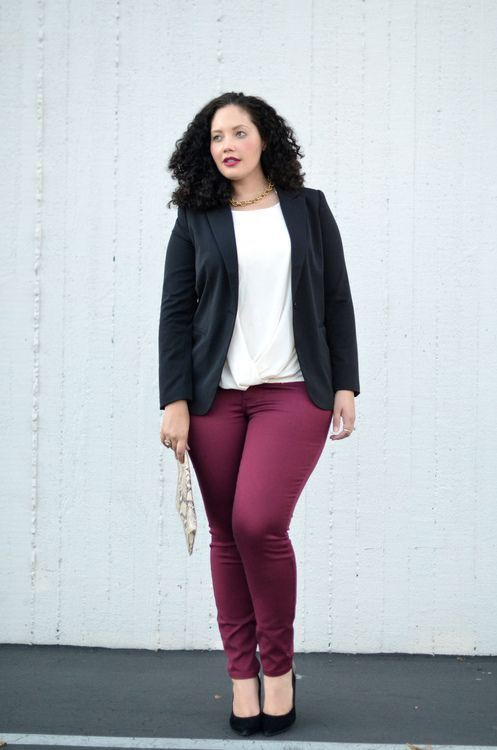 Plus Size Work Outfit, Kenneth Jay Lane, Tanesha Awasthi