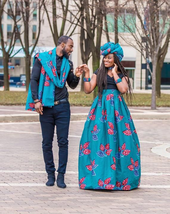 Matching african attire for couples | Kitenge Fashions For Couples ...